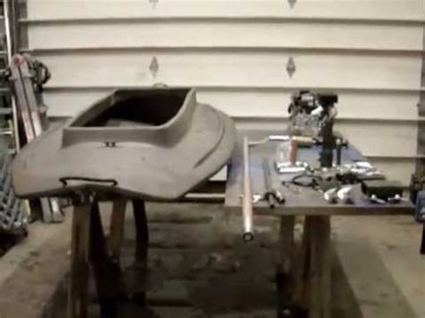 layout boat with mud motor wing whacker ii mud motor and layout boat build part 1 rev