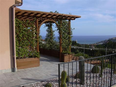 gazebi in legno per terrazzi coperture per terrazze pergole e tettoie da giardino