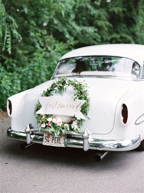 Wedding Car by 25 Best Ideas About Wedding Cars On Vintage