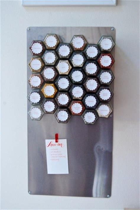 Make A Magnetic Spice Rack by 19 Inventive Ways To Store Organize Your Spices