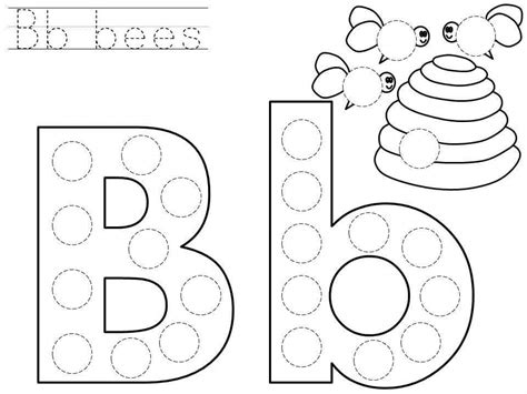 printable dot art worksheets dot art alphabet pictures to pin on pinterest pinsdaddy