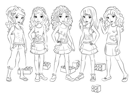 lego friends christmas coloring pages lego friends birthday party 16 bit crafting