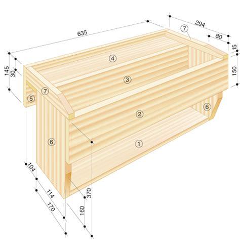 Blumenkasten Holz Selber Bauen 2598 by Blumenkasten Mit Wasserspeicher Ziergarten Selbst De