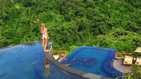 hanging infinity pools bali hanging gardens ubud neyu ma