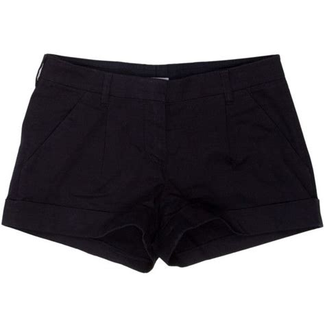 pre owned prada sport shorts 45 liked on polyvore