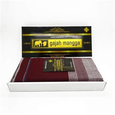 Sarung Bantal Merk Carmina Limited Sarung Tenun Merah Putih Cap Gajah Mangga Koleksi Antik