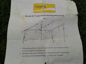 riviera awning for sale in uk 2 used riviera awnings