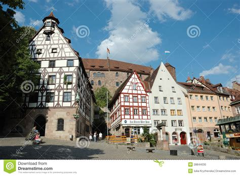 famous house painters tourists visiting house of famous german painter albrecht durer nerenberg germany