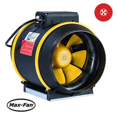 max air pro fan max fan 6 in pro series 420 cf maxfans air ventilation