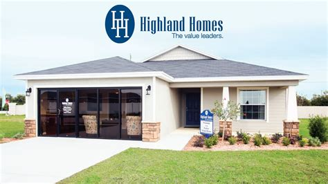 home plan by highland homes central florida new