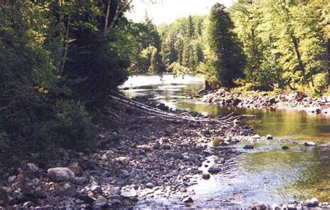 Blind River On Scenery