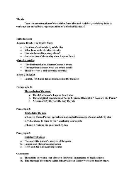 How To Write A Media Analysis Essay by Outline For Analytical Essay Sludgeport657 Web Fc2