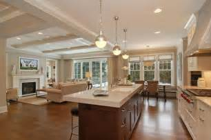 Open Kitchen Floor Plans Guest Post Decorating Tips For Wide Open Spaces A Design Help