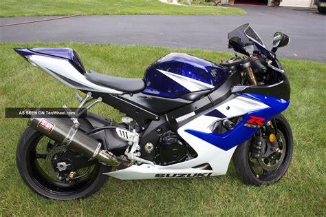 Suzuki Gsxr White 2005 Suzuki Gsxr 1000 Blue White Never Raced