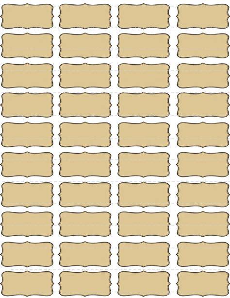 Digital Download Collage Sheet Blank Vintage 1800 S Tincture Label Template
