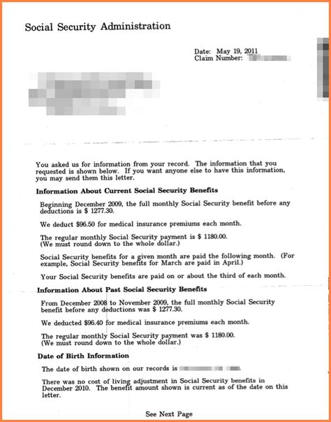 frеѕh social security benefits letter stock images