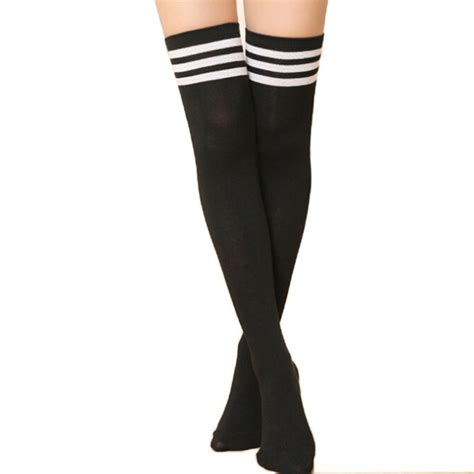 slippers for knee aliexpress buy fashion striped knee socks