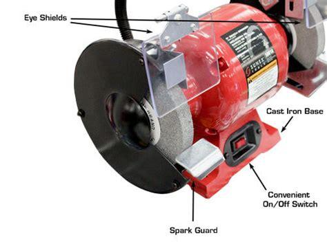 sunex bench grinder sunex 6 quot bench grinder with light gses