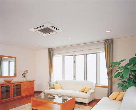 mitsubishi heat and cool ceiling cassette heat heat and cool