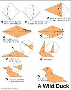 tutorial origami merpati horse face seattle with kids pinterest origami