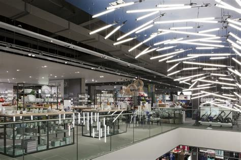 Breaking Wave installation for John Lewis by Paul Nulty Lighting Design, York ? UK » Retail