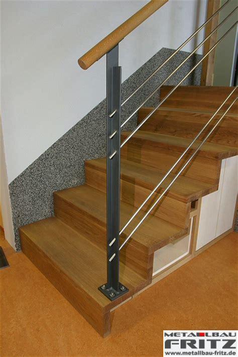 treppengeländer holz außen treppengel 228 nder innen 19 02 metallbau fritz