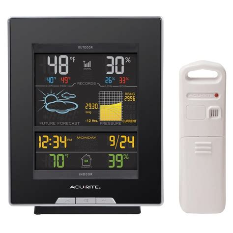 acurite backyard weather thermometer shop acurite digital weather station wireless outdoor