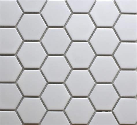 26858 hexagon matt white 50mm bespoke tile amp stone