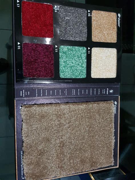 Karpet Lantai Plastik Per Meter karpet kantor karpet lantai karpet musholla new vision