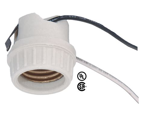 Snap In L Socket medium base porcelain snap in l holder socket 48107 b p l supply