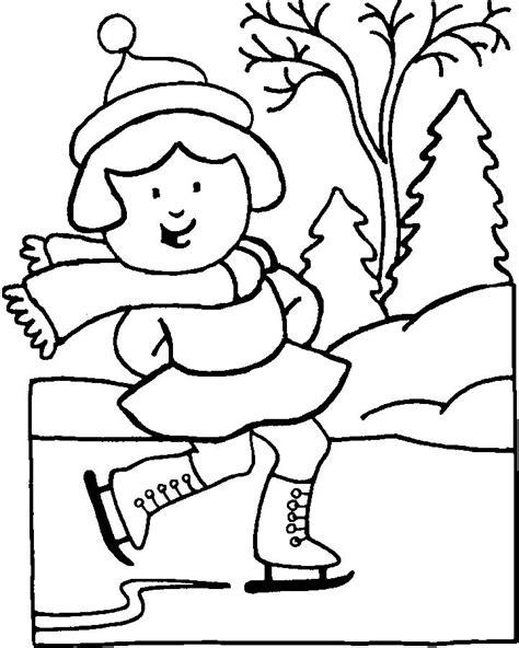 january coloring pages for kindergarten imprime le dessin colorier de l hiver
