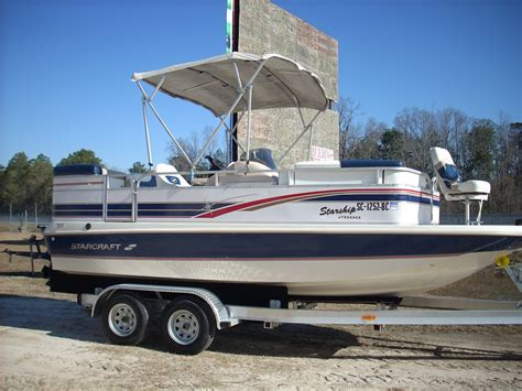 starcraft deck boats reviews 1997 starcraft starship 21 deck boat used excellent