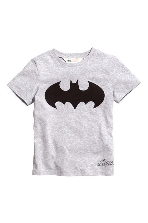 Set Batman Tshirt H M t shirt with printed design light gray batman sale h
