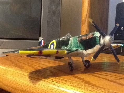How To Make A Paper Spitfire - how to make the spitfire paper model tutorial