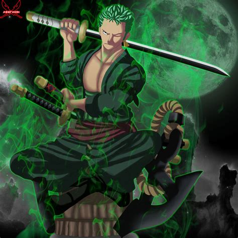 Kaos One New World Roronoa Zoro roronoa zoro by animefanno1 on deviantart