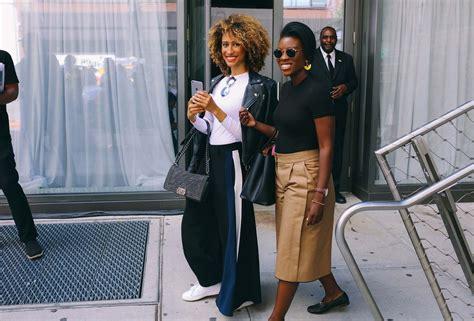 new york hairstyles for black women nyfw black women street style hairstyles 2017 spring