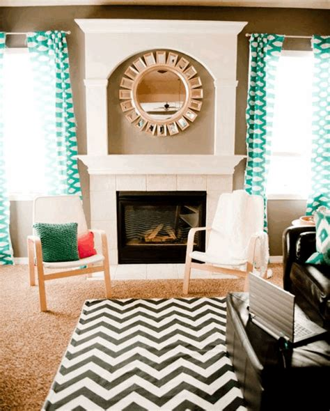Chevron Rug Living Room by Chevron Rugs Louise Layla