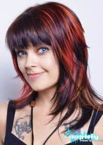 medium chunky bob haircuts funky layered haircuts