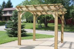 Building Pergolas by Building Our Farm One Pergola At A Time Old World Garden