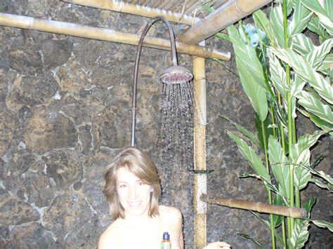 backyard shower hawaii 2004