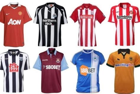 epl home ranking the 20 english premier league home team jerseys