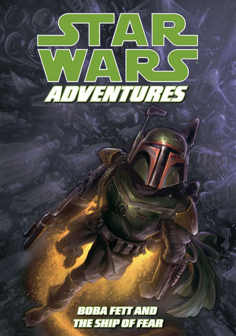 star of fear star star wars adventures boba fett and the ship of fear profile dark horse comics