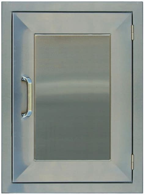 Stainless Steel Bbq Doors by Pcm Bbq Island Access Door 20 X 14 Vertical Stainless