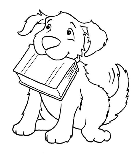 coloring book pages dogs coloring book page az coloring pages