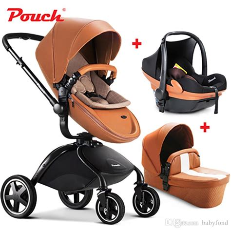 Positive Set 2in1 Gs 2018 2017 pouch baby stroller 3 in 1 suspension folding child trolley car seat baby basket