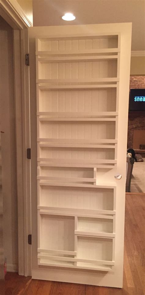 Door Pantry Storage Rack by Top 25 Best Pantry Door Storage Ideas On