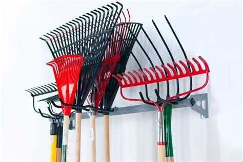 Shovel And Rake Storage Rack by Click Picture To Enlarge