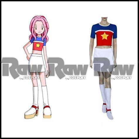 Sweater Anime Rikudou Sweater Black Wa Nrt 02 anime costume for digimon 02 mimi tachikawa performance stage shirt dress