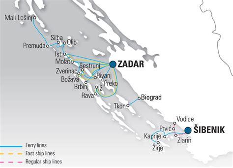 ferry boat zadar ferry en croatie prix et liaisons chez jadrolinija