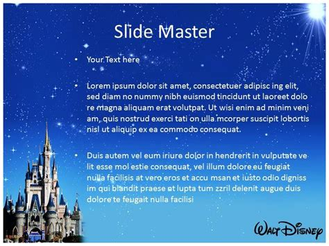 Make Effective Presentation With Disney World Powerpoint Walt Disney Powerpoint Template